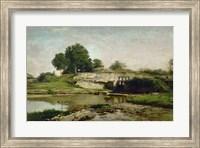 La Vanne D'Optevoz (Isere), 1859 Fine Art Print