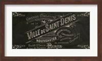 Signes Francais V Fine Art Print