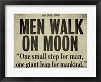 Moonwalk Fine Art Print