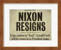 Nixon Fine Art Print