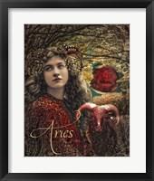 Art Nouveau Zodiac Aries Fine Art Print
