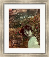 Art Nouveau Zodiac Capricorn Fine Art Print