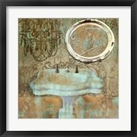 Salle de Bain III Fine Art Print