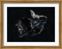 Asteroid in Space Fine Art Print