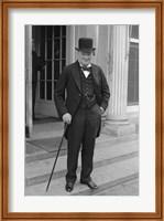 Winston Churchill Fine Art Print