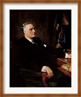 Digitally Restored President Franklin Roosevelt Fine Art Print