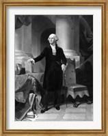 Vintage President George Washington Fine Art Print