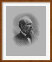 President James Garfield Fine Art Print