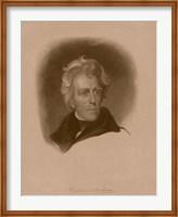 President Andrew Jackson Fine Art Print