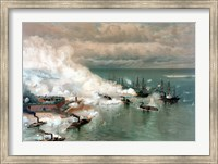 The Battle of Mobile Bay Fine Art Print
