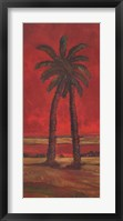 Crimson Palm I Fine Art Print