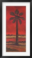 Crimson Palm II Fine Art Print