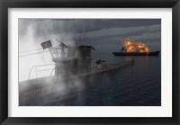 A German U-Boat Fine Art Print