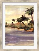 Caribbean Shores I Fine Art Print