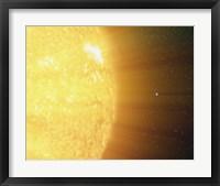 Sun and the Earth Fine Art Print