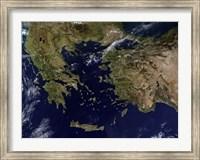 Greece and Turkey Fine Art Print