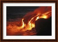 Kilauea Lava Flow Fine Art Print