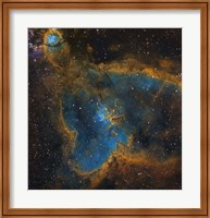 IC 1805, the Heart Nebula Fine Art Print