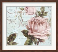 Atelier De Roses Fine Art Print