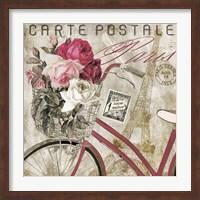 Postale  Paris I Fine Art Print