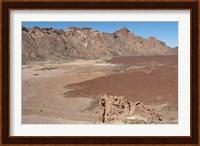 Spain, Tenerife, Las Canadas, lava flow Fine Art Print