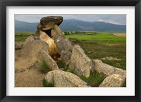 Sacred burial site near Elvillar village, La Rioja, Spain Fine Art Print