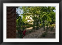 Entrance gate to Cordorniu Winery, Catalonia, Spain Fine Art Print