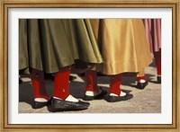 Children's Dance Group at Poble Espanyol, Montjuic, Barcelona, Spain Fine Art Print