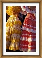 Colorful Flamenco Dresses at Feria de Abril, Sevilla, Spain Fine Art Print