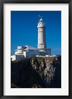 Cabo Mayor Lighthouse, Santander, Spain Fine Art Print