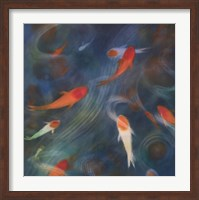 Koi Zen 1 Fine Art Print