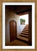 Spain, Granada Alhambra, legendary Moorish Palace, interior details Fine Art Print