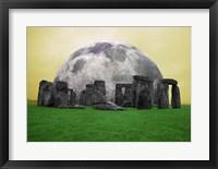Full Moon over Stonehenge, England Fine Art Print