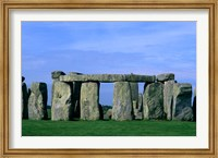 Abstract of Stones at Stonehenge, England Fine Art Print