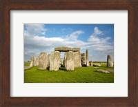 Stonehenge (circa 2500 BC), UNESCO World Heritage Site, Wiltshire, England Fine Art Print