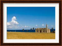 Cyprus, Karpas peninsula, Ayios Thyrsos church Fine Art Print