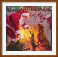 Santa Something For Everyone Fine Art Print