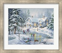 A Fine Winter's Eve Fine Art Print