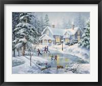 A Fine Winter's Eve Fine Art Print