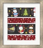 Snowman Knit Fine Art Print