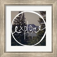 Explore Oregon Fine Art Print