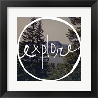 Explore Oregon Fine Art Print