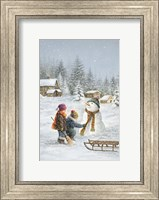 One More Tug On The Scarf Fine Art Print