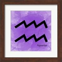 Aquarius - Violet Fine Art Print