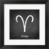 Aries - Black Fine Art Print