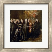 Procession of Saint Clare Fine Art Print