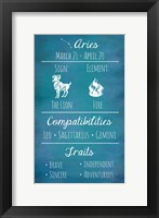 Aries Zodiac Sign Fine Art Print