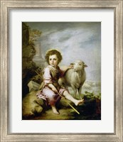 The Good Shepherd, around 1665. Fine Art Print