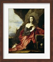 Saint Mary Magdalen or Saint Tais, 1641 Fine Art Print