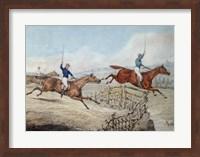 Hunting Scene Fine Art Print